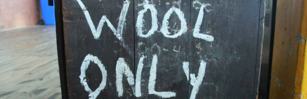 Wool only projects.