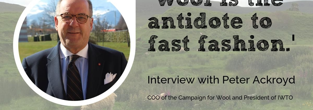 Peter Ackroyd at the Wool Academy Podcast