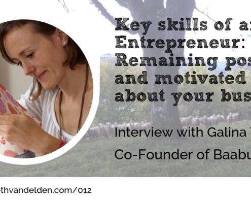 Galina Witting Co-founder of Baabuk