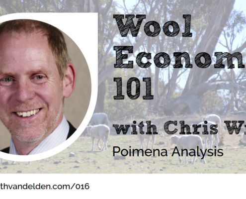 Chris Wilcox Wool Economics 101 Wool Academy Podcast