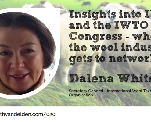 Wool Academy Podcast Episode 20 Dalena White from IWTO