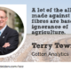 Terry Townsend Cotton Analytics interview at the Wool Academy Podcast with Elisabeth van Delden