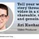 Ari Kuchar Video Producer for Wool Academy Podcast 24