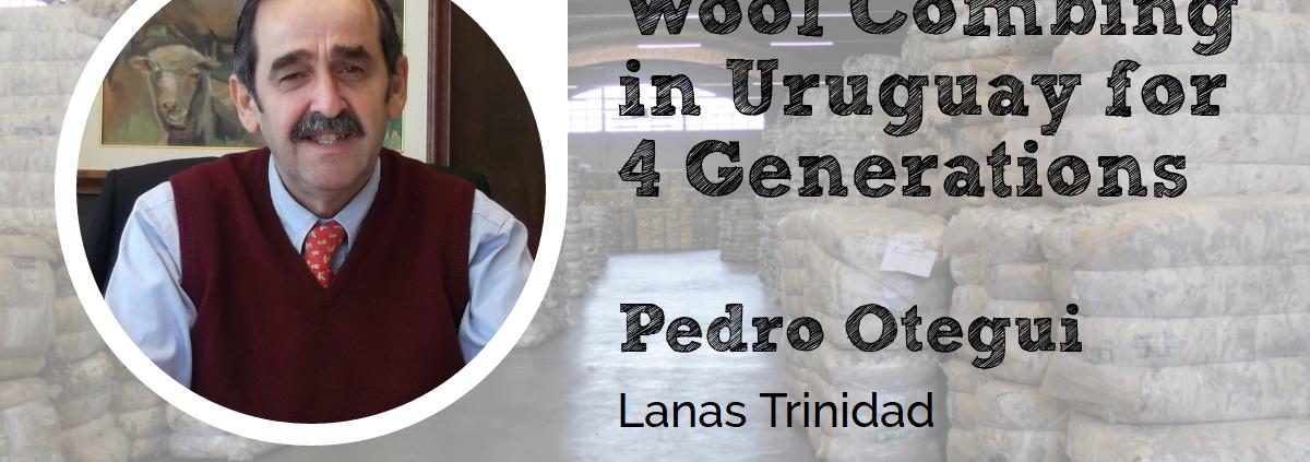 Pedro Otegui Lanas Trinidad at the Wool Academy Podcast