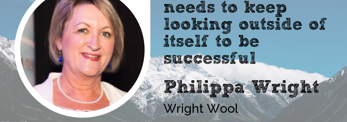Wool Academy Podcast Philippa Wright of Wright Wool