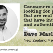 Dave Maslen from the New Zealand Merino Company as guest on the Wool Academy Podcast