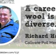 Richard Halliday Callowie Episode Wool Academy Podcast 37