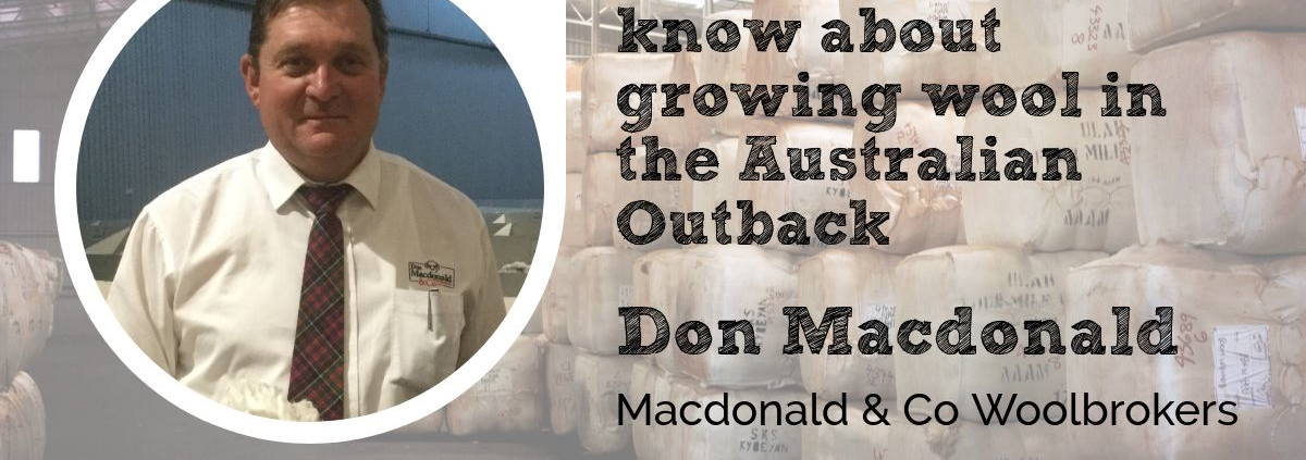 Don Macdonald Maconald Co Woolbrokers Wool Academy Podcast 042