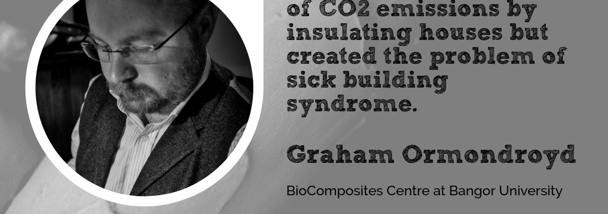 Graham Ormondroyd BioComposites Centre at Wool Academy Podcast