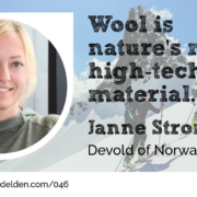 Janne Strommen Devold of Norway Wool Academy Podcast 046