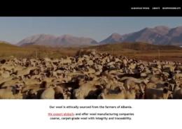 Flock Wool Trading Company Website