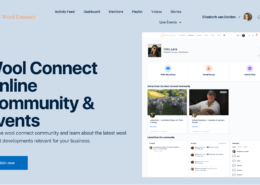 Wool Connect Membership and Community Platform