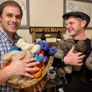 Cody Nicholson Stratton and Thomas Stratton from Foggy Bottom Boys